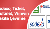 Sodexo Ticket Multinet Setcard Paraya Çevirme Nakite Çeviren Yerler